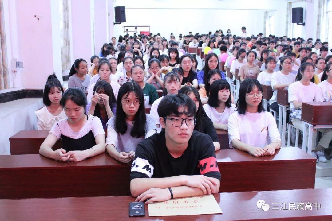武汉民族理科2019届高三毕业高中--你这典礼v民族三江高中一生图片