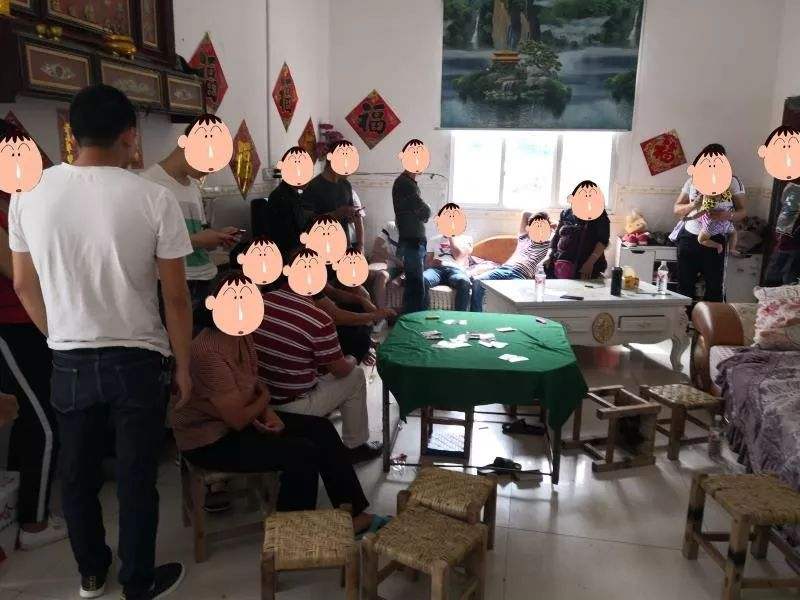 在隆林多地开设赌场的这对夫妻栽了,当场抓获18人!