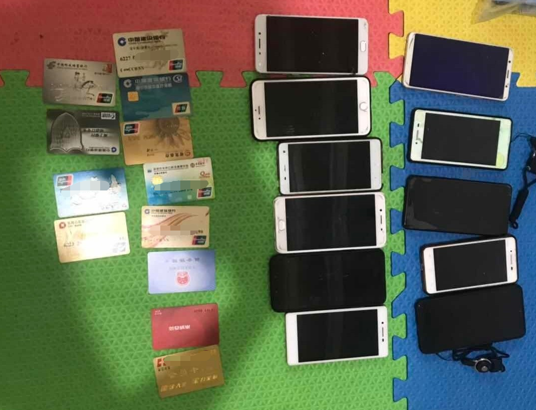 河北保定警方一举端了4个电信诈骗窝点,39人被抓