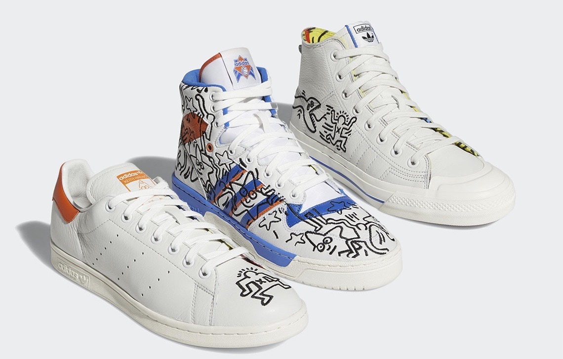 GD最爱!Keith Haring x adidas新联乘鞋款发售双曝光!
