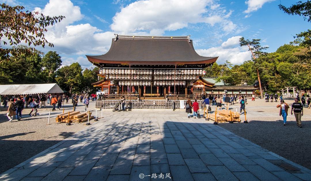 日本人有多热爱中国文化?看看京都的古建筑和文字就知道了!