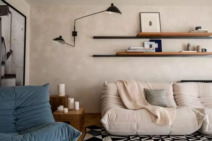 迷人复式公寓,宽敞明亮,简单有细节!