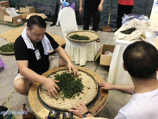 绿茶黑茶黄茶白茶…六大茶系茶品在绵阳争茗斗艺