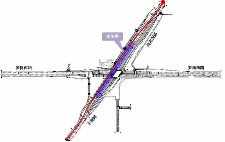 深圳黄木岗钢便桥将于今晚24时通车!最新交通疏解方案请查收