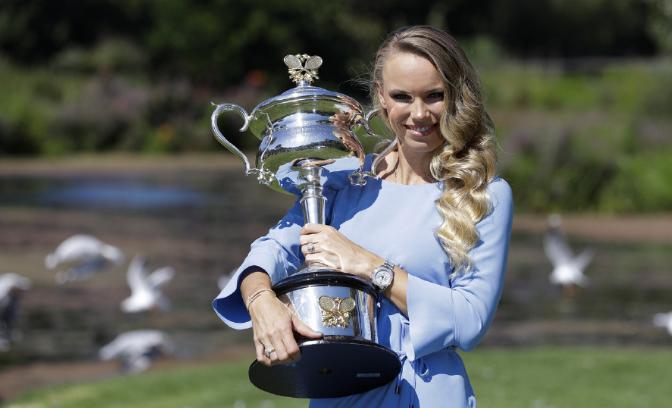 祝贺!曝18年澳网冠军沃兹将完婚 表子系前勇士冠军球星大卫李