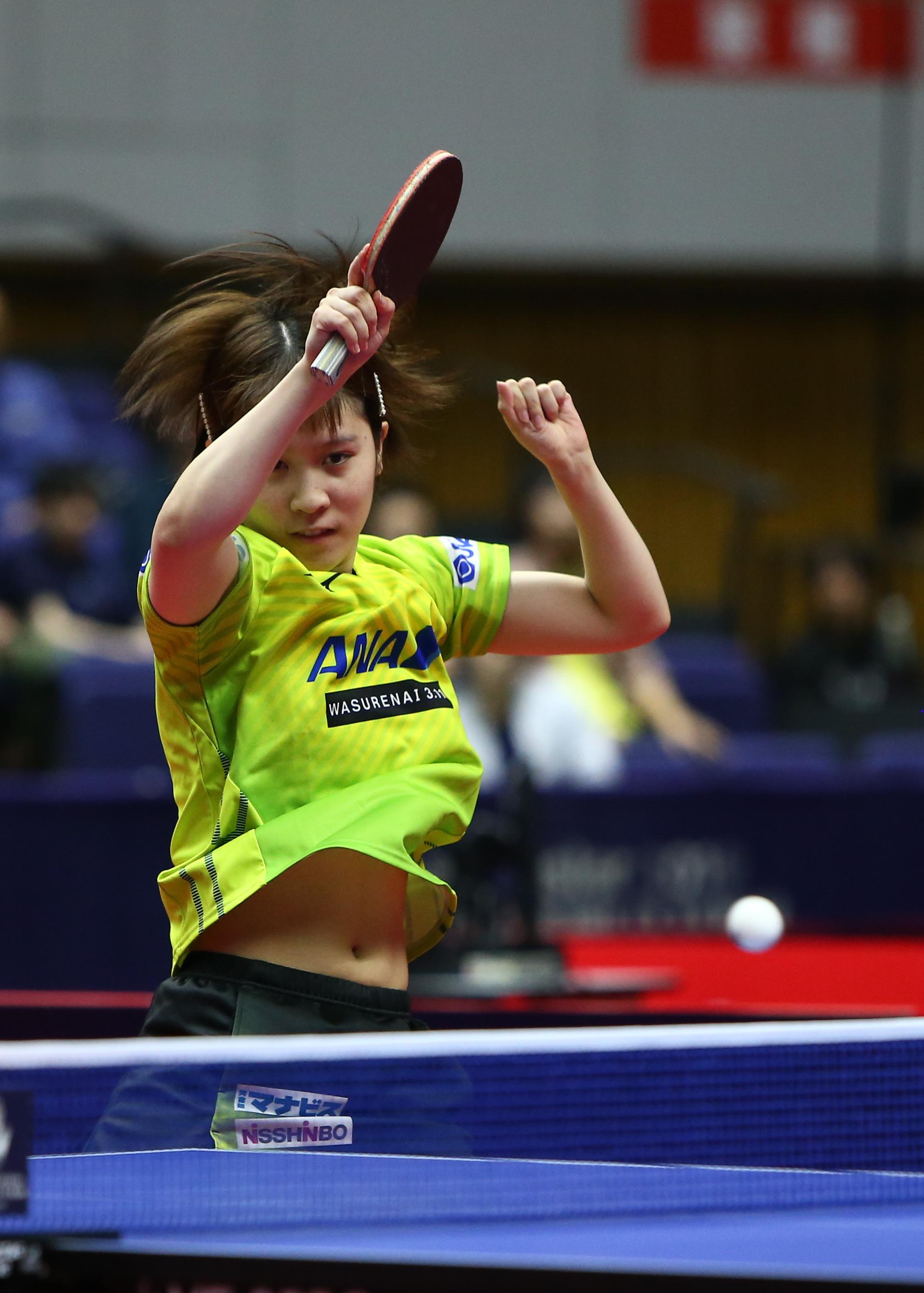 乒乓球——日本公开赛:平野美宇晋级女单半决赛