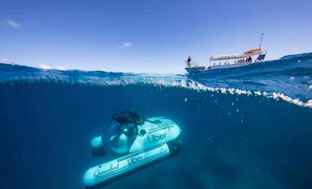 共享科技出新招:大堡礁将推出共享潜艇服务项目