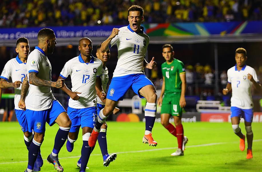 里程碑!巴西喜提美洲杯百胜 仅逊阿根廷乌拉圭