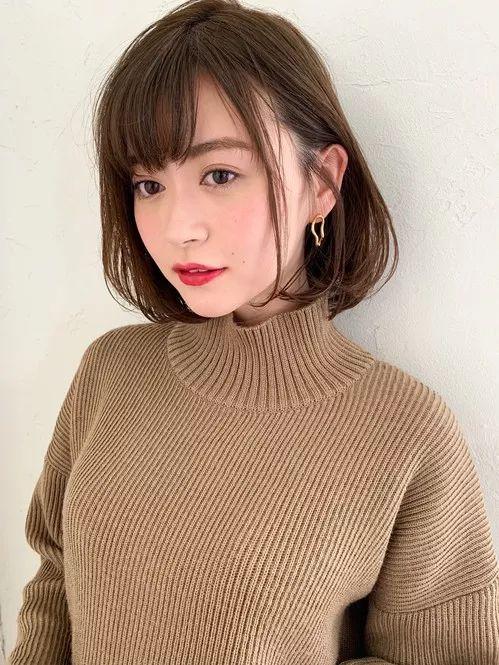 日系新发型,让你2019年一整年都备受瞩目图片
