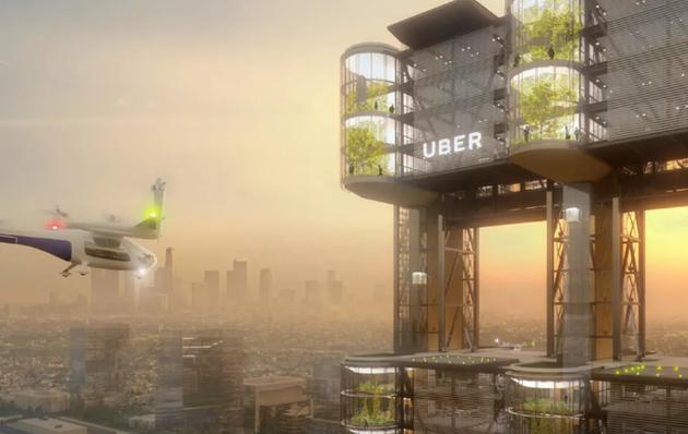 """Uber将与和AT&T合作测试5G""""飞的"""""""