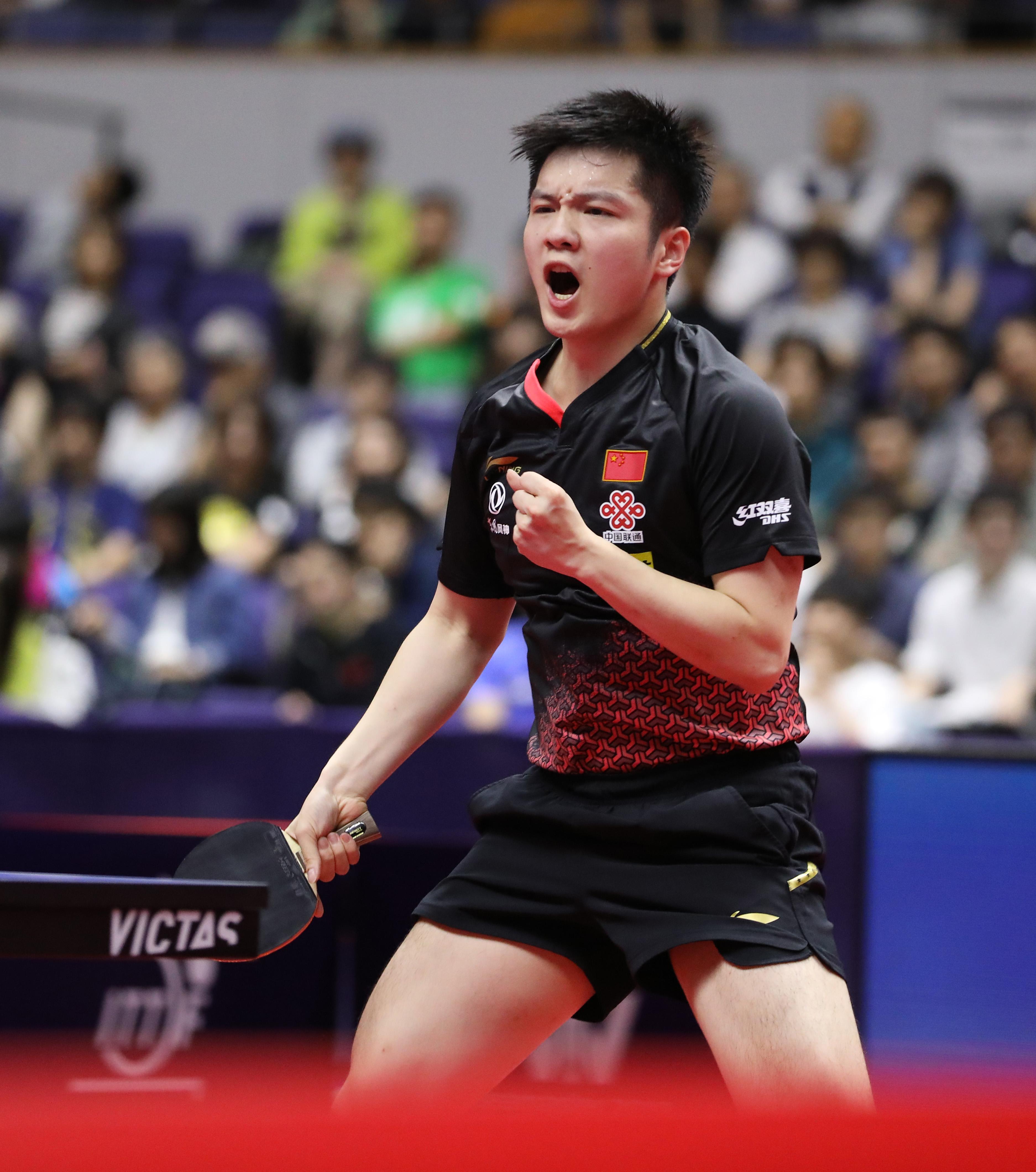 乒乓球 | 日本公开赛:樊振东胜马龙