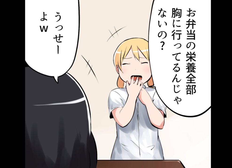 日本一g罩杯的妹子将自己的日常画成了漫画!