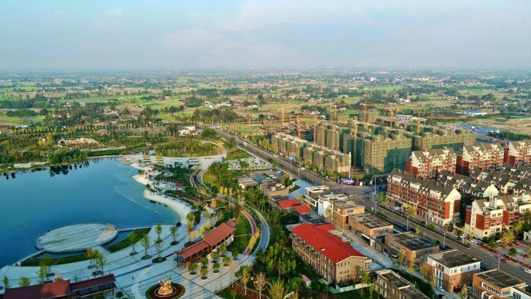 什邡雍湖新区规划图