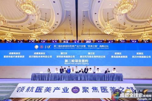 """第二届成都国际医美产业大会开幕 专家为打造""""医美之都""""献策"""