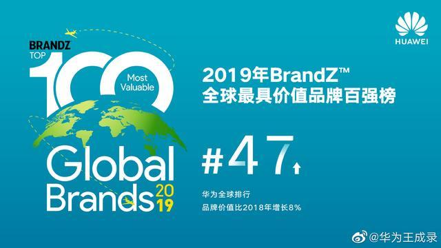 BrandZ全球品牌价值榜出炉,华为小米齐头并进