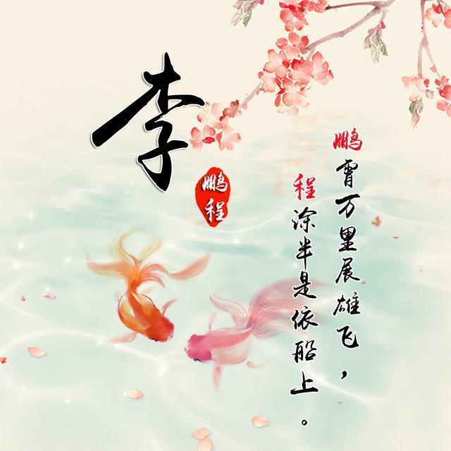 用你的名字做微信头像:唯美古风,好运锦鲤,姓氏头像,喜欢吗?图片