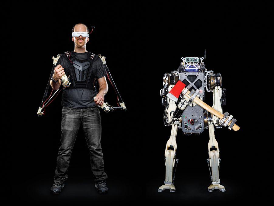 """真·人机合一!MIT推出人形机器人""""爱马仕"""",远程遥控操作救援"""