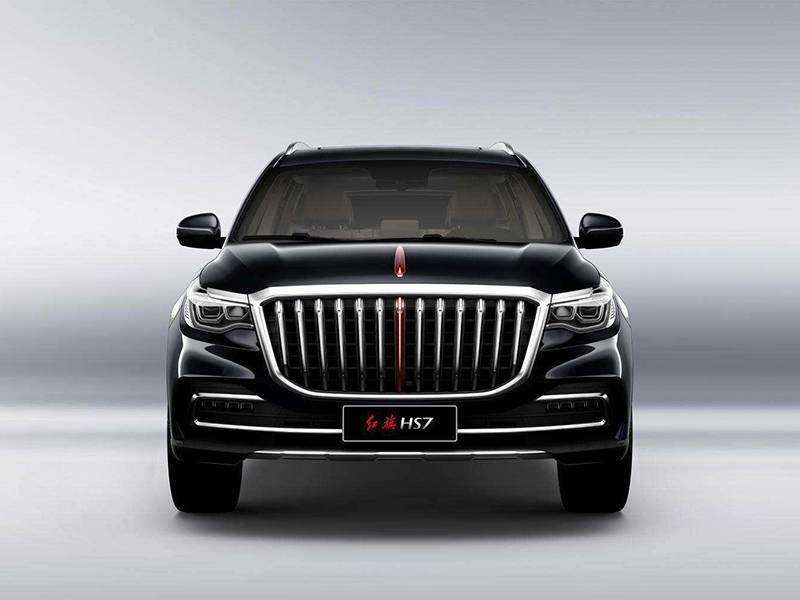 原创                定位中大型SUV,配备3.0T+8AT,红旗HS7预计7月12日上市