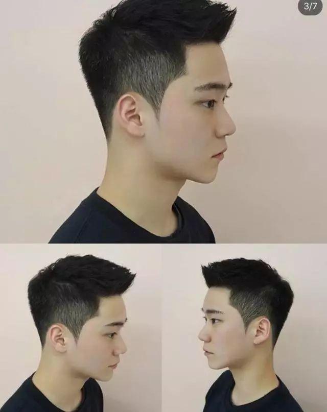 成熟帅气的发型图片男生 2019男生流行发型图片