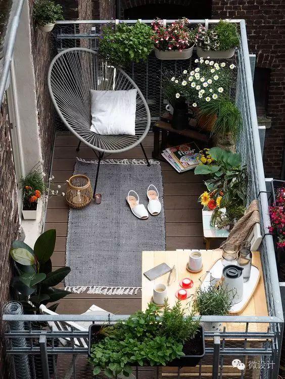 阳台,不止是用来晒衣服