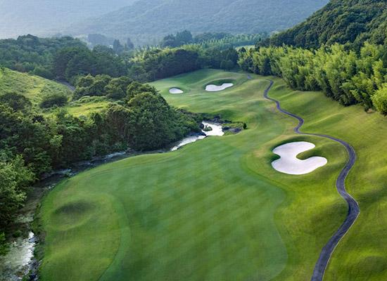 日本百佳球场:黄金谷高尔夫俱乐部