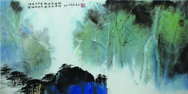 黄老山水画的人文与自然