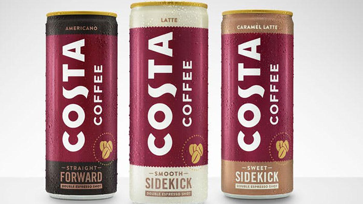 买下 Costa 后,可口可乐第一款罐装咖啡问世