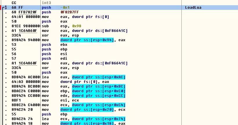 luaqnlunxiao_想办法把其lua脚本都提取出来,其脚本都打包为xar文件中,我们找到load