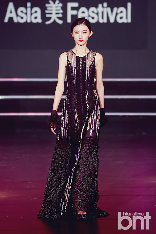 """2019亚洲模特盛典""""Asia美Festival""""中国品牌MissLace时装秀完美点缀"""