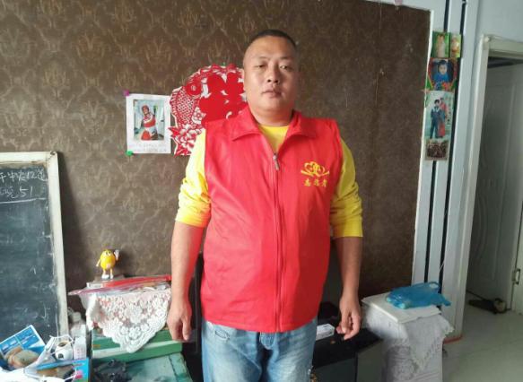 黑龙江拜泉县志愿者赵尔夫与爱心公益协会的故事
