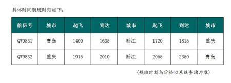6月29日青岛新增青岛=黔江=重庆