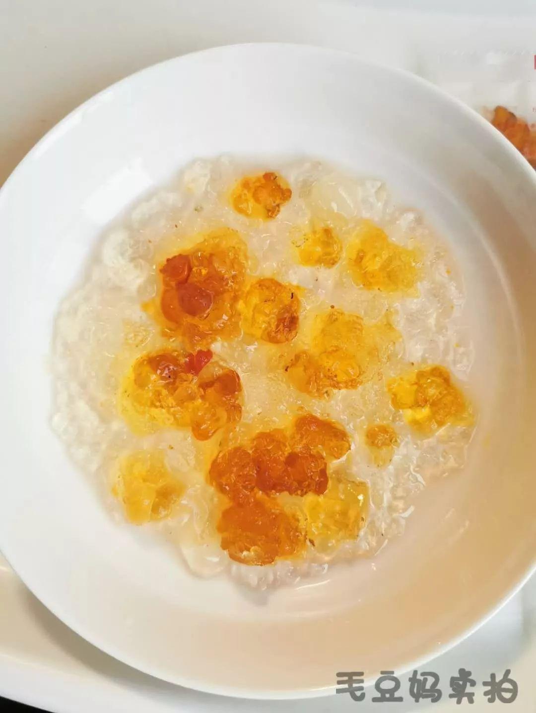 养颜护肤的桃胶 皂角米 雪雁甜品,低热量饱腹感是瘦的秘诀