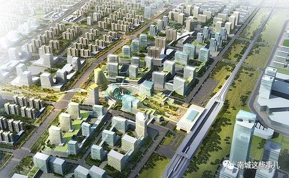 涿州高铁新城规划图