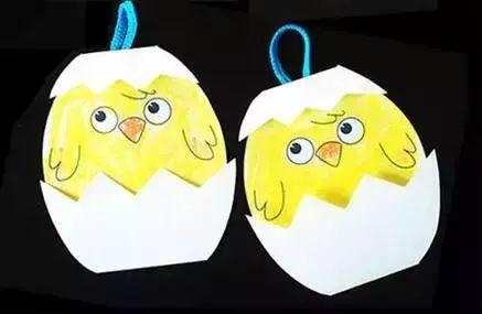 鸡蛋壳的创意小手工制作,有图有步骤哦!