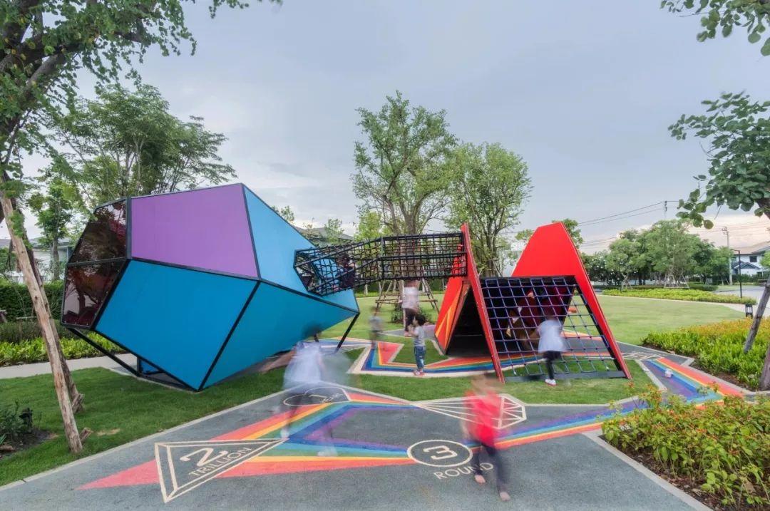 儿童游乐场设计要点及案例分析图片