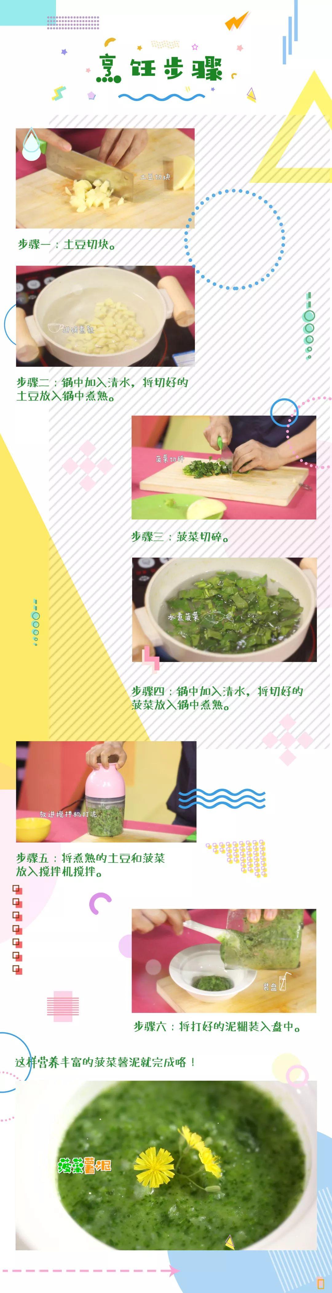 育儿 | 辅食:菠菜薯泥