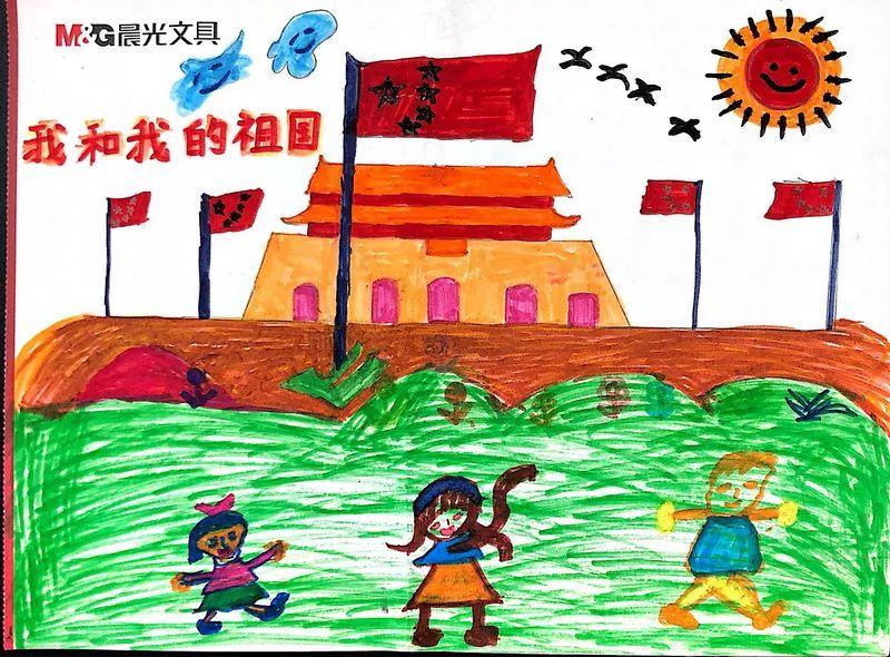 我和我的祖国绘画作品展