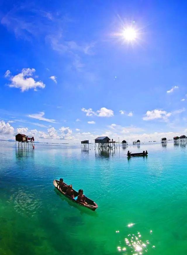 暑假走进沙巴穿越赤道的风 、看沙巴的海给自己一个椰风斜阳的大海梦