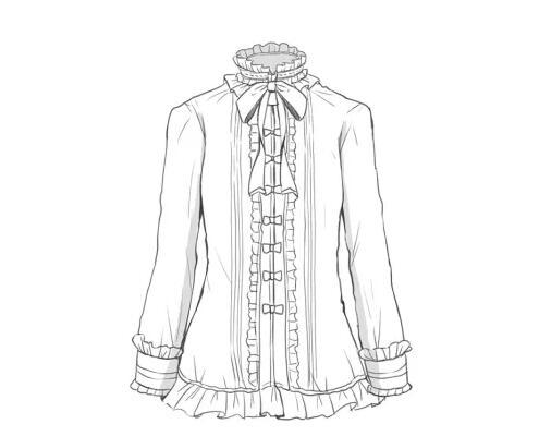 绘画中哥特式服饰与洛丽塔服饰的区别 教程超级实用
