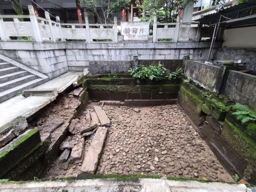 长宁双河葡萄井:地震受损干涸!