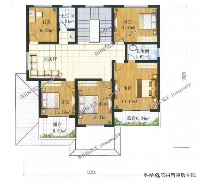 10款大户型农村别墅设计图,房子这么建,村长都眼红