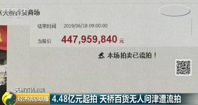 0報名、0競買!4.48億北京天橋百貨第一次拍賣遭流拍:天橋駕校報名大廳