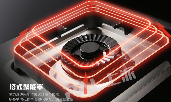 送整合灶变形金刚F16,堆叠火圈喷厨的所有火力需求都能满足