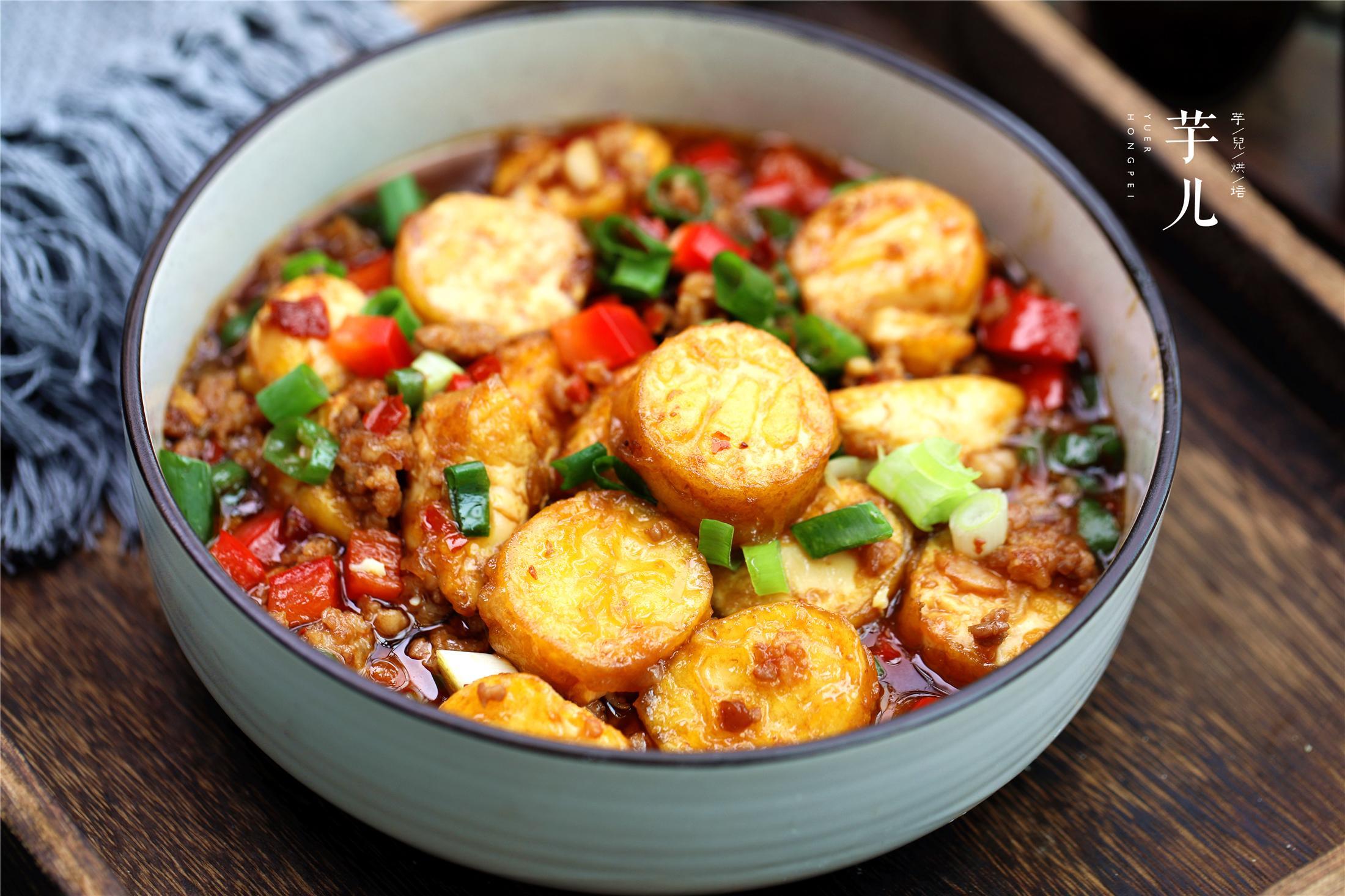 脆皮玉子豆腐【脆皮玉子豆腐最美味的做法!外酥里嫩,酱汁鲜香,一口一个停不了】