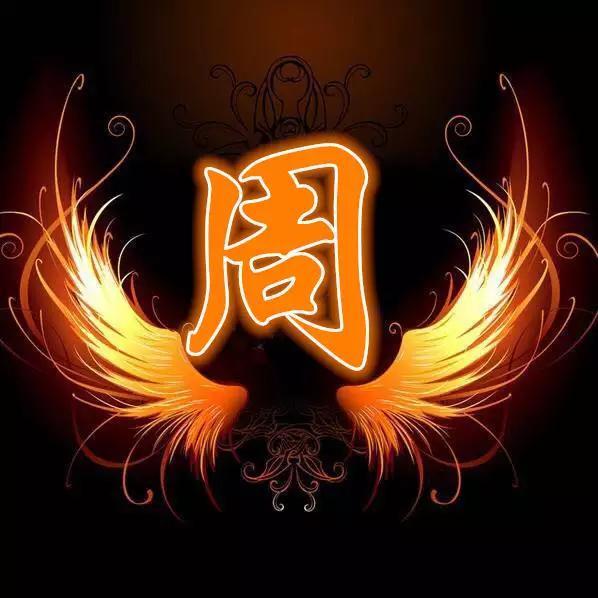 火焰翅膀 百家姓氏微信头像,姓氏qq头像 有你喜欢的吗