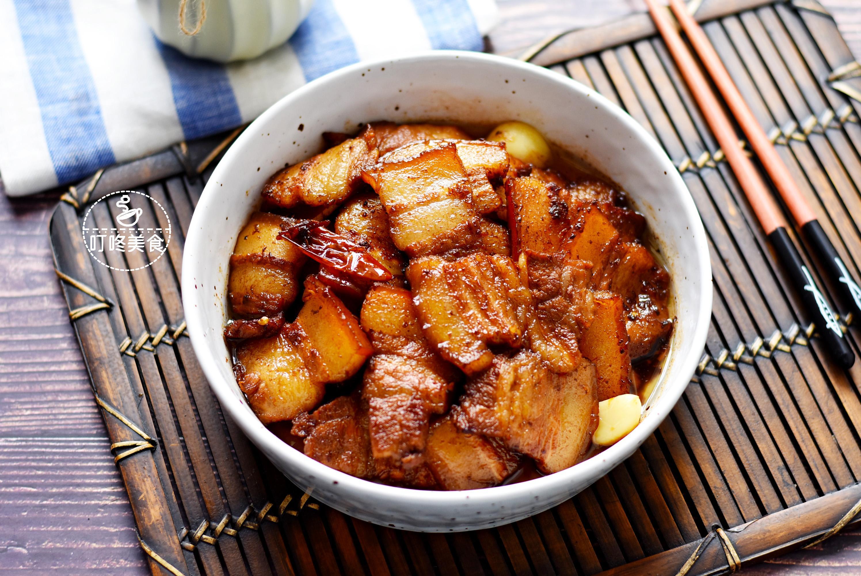 [五花肉这样做才好吃,比红烧肉简单,香而不腻,上桌几下就光盘] 红烧肉五花肉的做法