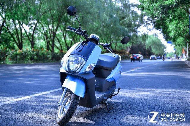大个子的福音!净原T1电动摩托车实用性评测