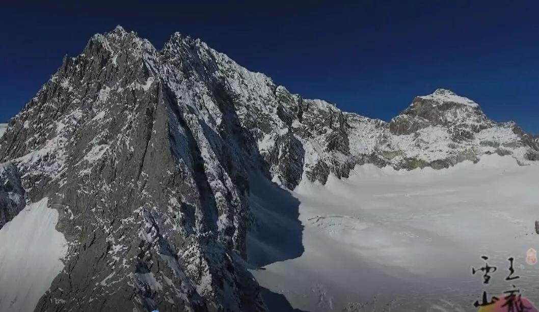 我被冰冻了100年_【玉龙雪山】景区最大承载量2.8万人/天!冰川保护,你我都要行动!