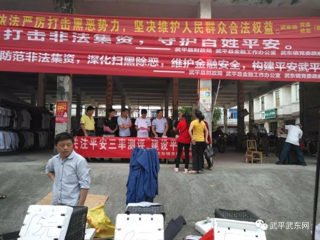 """武东镇开展2019年""""平安建设""""集中宣传活动"""