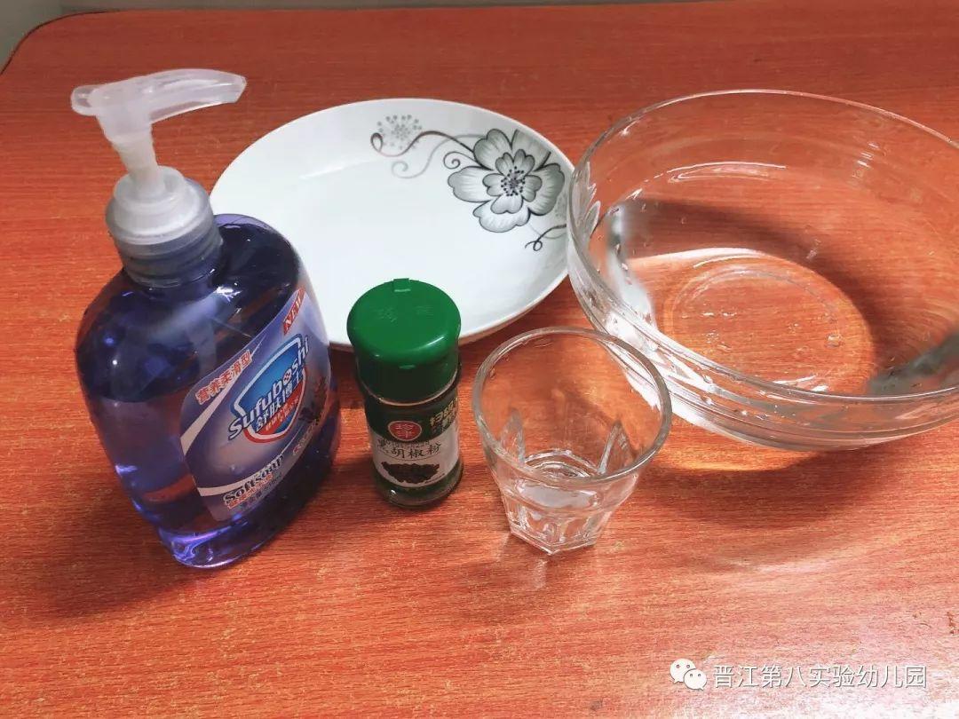 胡椒粉和洗洁精的实验原理是什么_白带是什么图片
